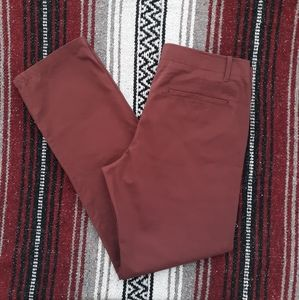 The lived-in slim gap pants